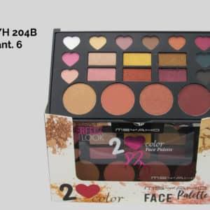 Paleta Sombra - YH 204A   Paulis Makeup