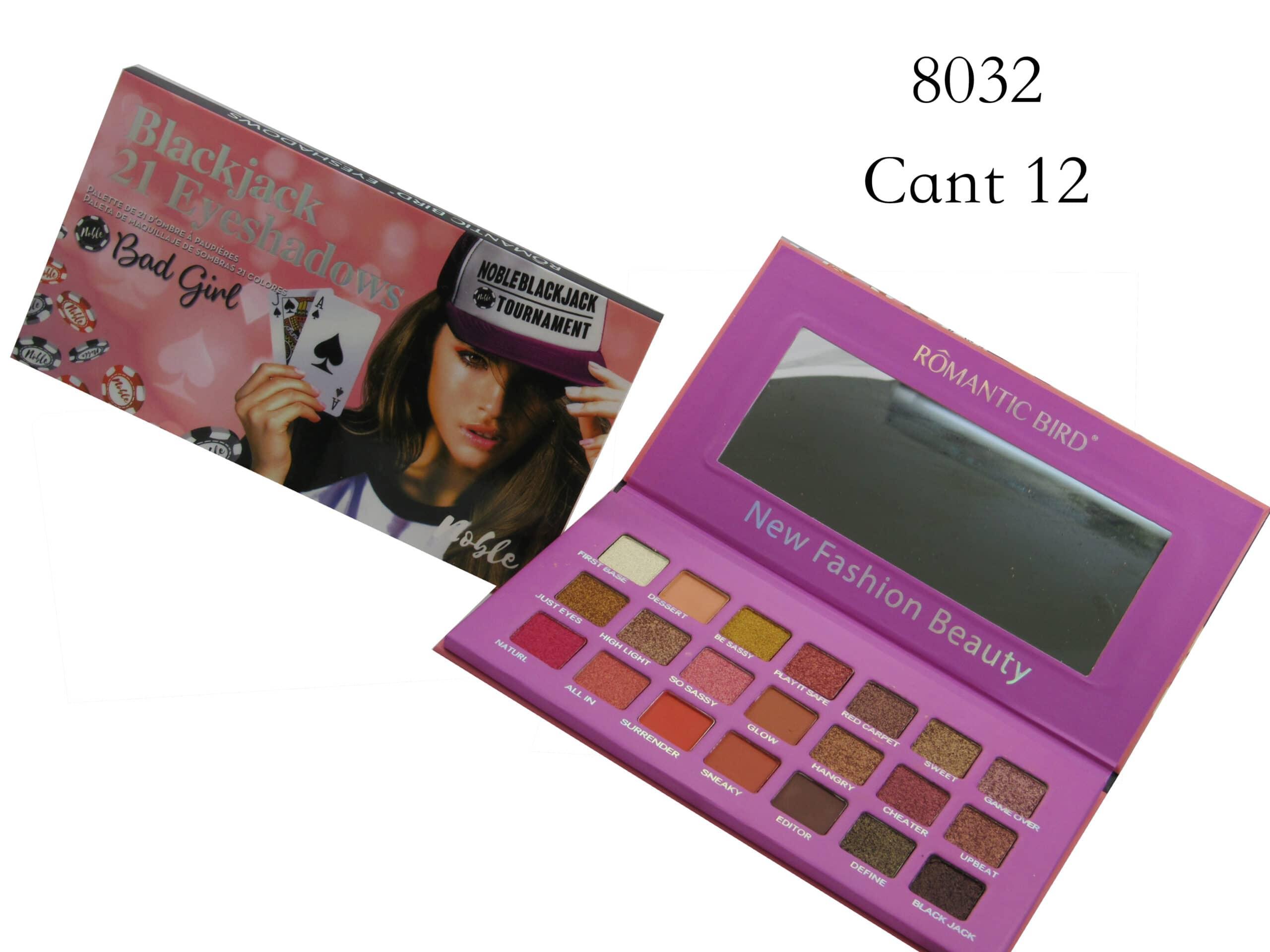 Paleta Sombra - SE 823 (Box x 12 Unidades)   Paulis Makeup